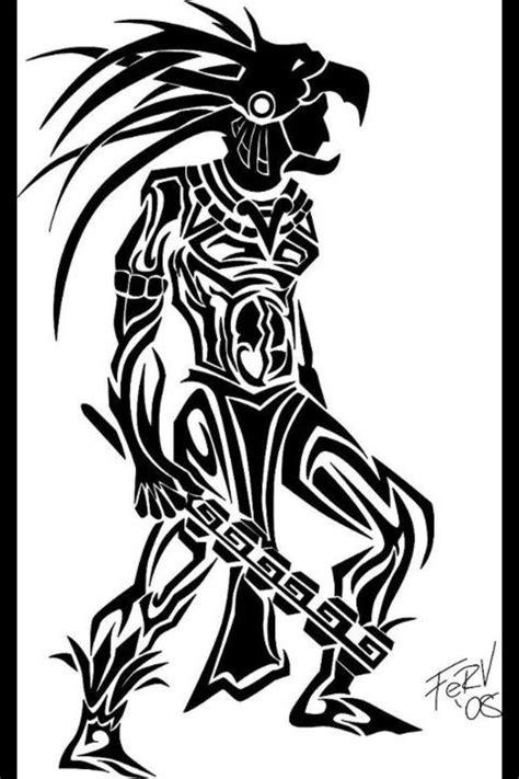 tribal quetzal tattoo m 225 s de 25 ideas incre 237 bles sobre tatuajes tribales aztecas