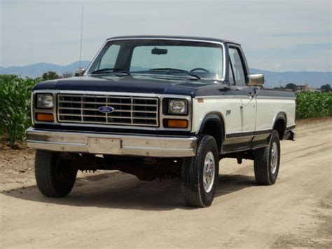 1984 ford f250 1 owner original low mileage 4x4 for sale photos technical specifications