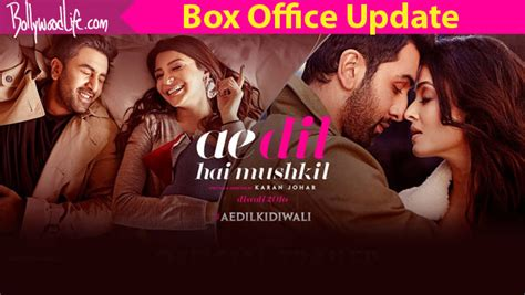 one day film box office ae dil hai mushkil box office collection day 1 ranbir