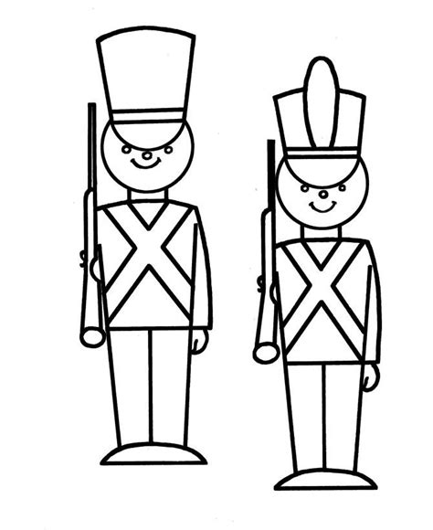 nutcracker template soldier coloring page az coloring pages