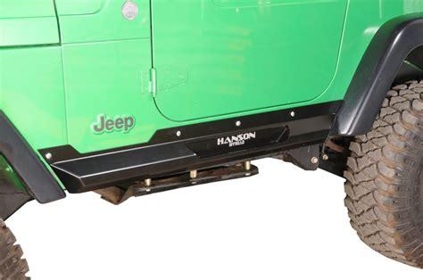 Jeep Tj Rock Sliders Hanson Offroad Tjrp P Hanson Offroad Rock Sliders For 97