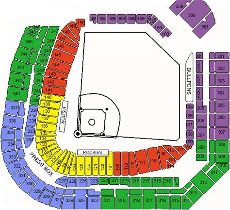 coors field map coors field tickets coors field denver tickets coors field seating chart