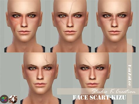 scars 187 sims 4 updates 187 best ts4 cc downloads