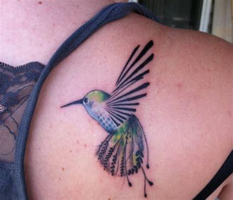 3d hummingbird tattoos hummingbird bird on shoulder tattoomagz