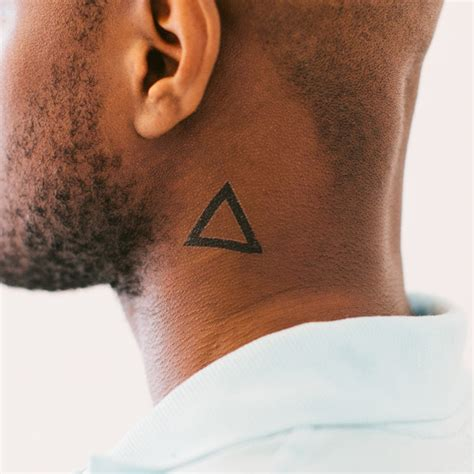 triangle tattoo ideas and triangle tattoo designs