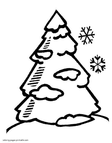 christmas tree coloring page blank blank christmas tree coloring pages