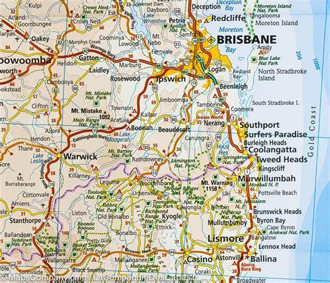 map of eastern australia map of eastern australia reise how mapscompany