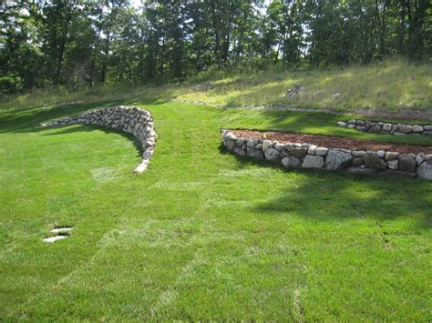 retaining wall to level backyard 25 best ideas about leveling yard on pinterest downspout ideas yard drainage and