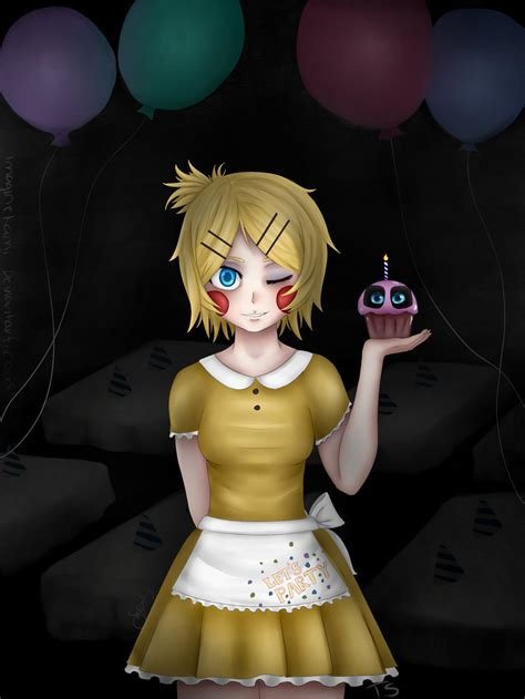 deviantart anime chica toy fnaf mmd toy chica fanart by imaginekami on deviantart