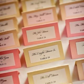 do you put names on wedding place cards wediquette and all about place cards