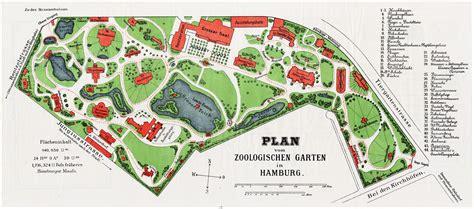 zoologischer garten hamburg alte und historische karten aus hamburg zu speziellen themen