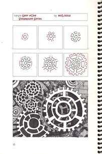 how to draw doodle patterns new tangle pattern geer one zentangle imitates