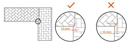 arbeitsplatten verbinden schablone holzarbeitsplatten installation und nachsorge worktop