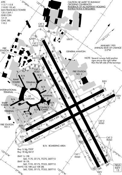 san francisco airport map pdf san francisco international airport