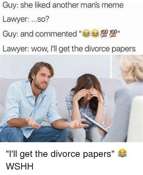 Divorce Guy Meme - 25 best memes about manly meme manly memes