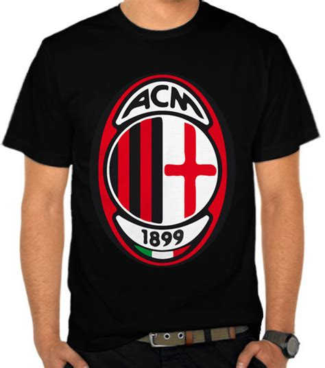 Kaos Nv Ac Milan 16 jual kaos sepak bola logo ac milan simpel liga italia