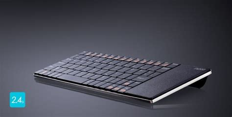 fortnite with trackpad rapoo s ultra slim keyboard has a built in trackpad cult