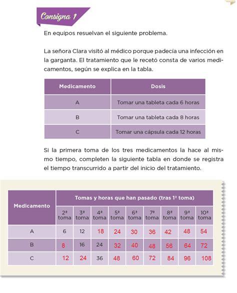 libro de desafios matematicos pagina 134 y 135 de sexto los medicamentos desaf 237 os matem 225 ticos 6to bloque 5to