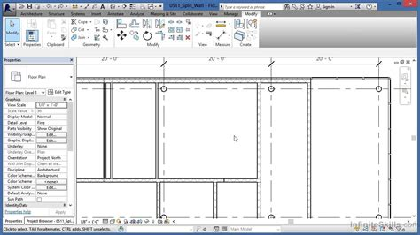 revit tutorial revit architecture 2014 tutorials for autodesk revit architecture 2014 tutorial split wall