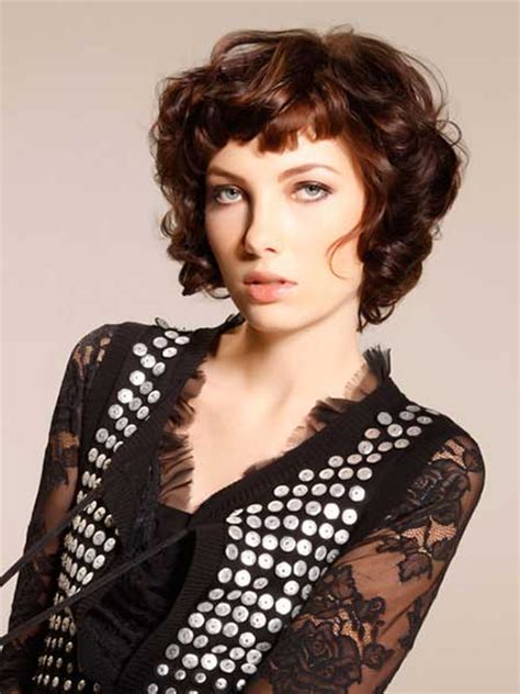 haircuts for curly hair short with bangs 20 best short curly hairstyles 2014 short hairstyles