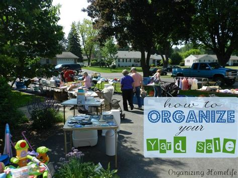 Best Way To Organize A Garage Sale by 48 Best Images About Garage Sale How To S On