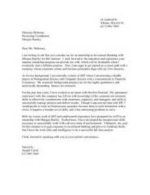 cover letter for banking internship investment banking internship cover letter friv1k