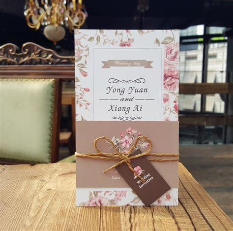 buy fresh simple wedding invitation