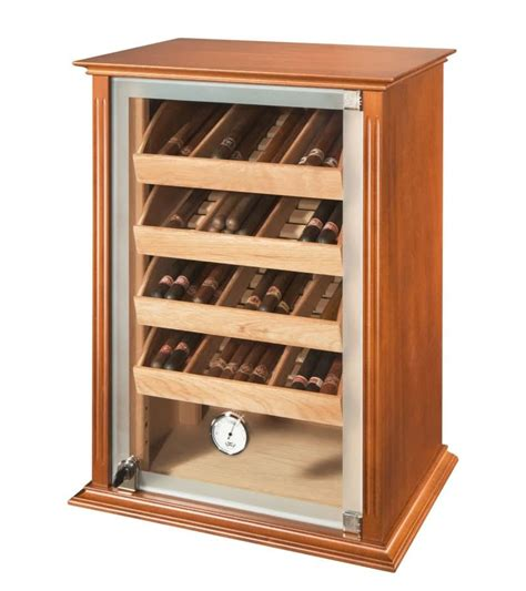 Reception Armchairs Humidity Controlled Static Humidor For Tobacco Shop