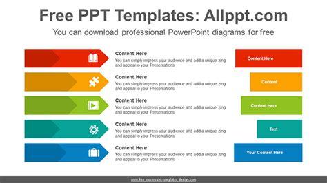 Arrows Bar Banner Powerpoint Diagram Template Powerpoint Banner Template