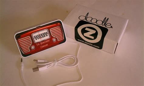 doodlebug usb zazzle customized doodle speakers review the gadgeteer