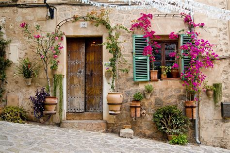 wallpaper flower house provence wallpapers wallpaper cave