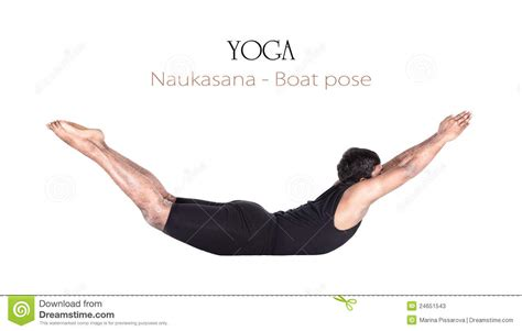 side boat yoga pose yoga naukasana boat pose stock image image of blank