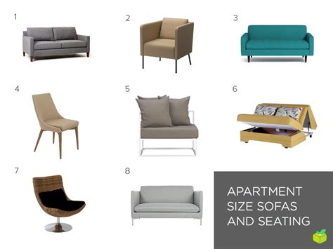 apartment size sofa and chair space saving furniture for your small apartment