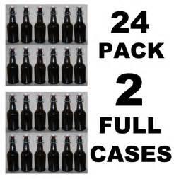 Bench Crown Capper Beer Bottles 24 Ez Cap Amber Glass Swing Top Soda 16oz