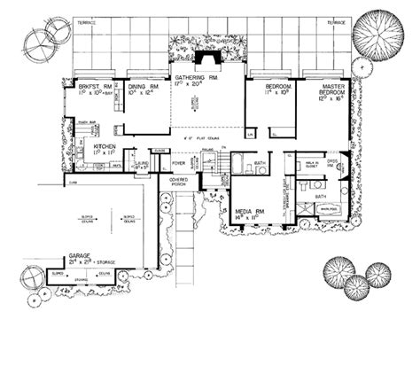 777 floor plan contemporary style house plan 2 beds 2 baths 1835 sq ft
