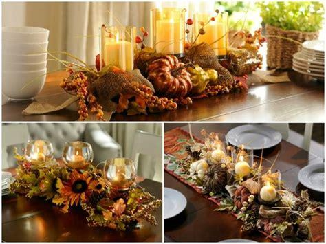 fall dining table decorations d 233 co table automne id 233 es et astuces de d 233 coration