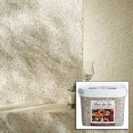 castorama enduit d 233 coratif 224 base de coquillage murs des