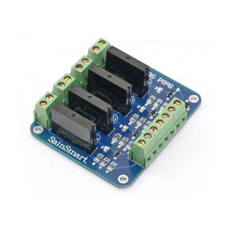 Solid State Relay Ssr Module 4 Channel sainsmart 4 channel 5v solid state relay module board omron ssr avr dsp arduino