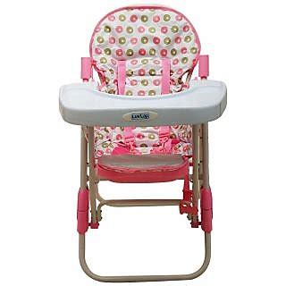 comfy baby high chair luvlap comfy baby high chair pink in india shopclues