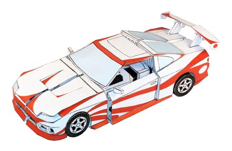 Cars Robot Be A Cars Robots papercraft changeable robots actually transform