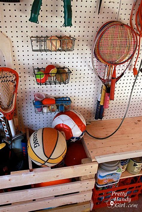 Garage Organization Sports Equipment How To Organize Your Garage Clean And Scentsible