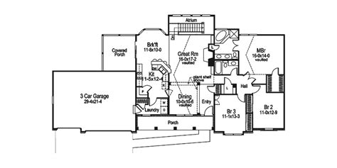 atrium ranch floor plans foxbury atrium ranch lovely home ranch house plans