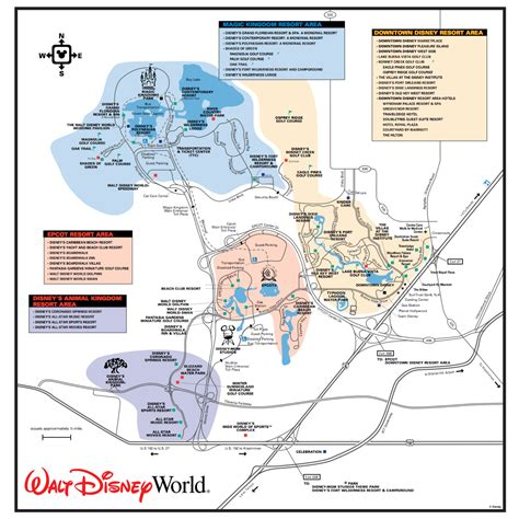 disney monorail map get to the disney world transportation and ticket center ttc touringplans