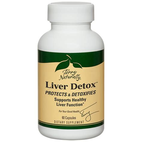 Detox Liver Enzymes by Europharma Terry Naturally Liver Detox 60 Caps