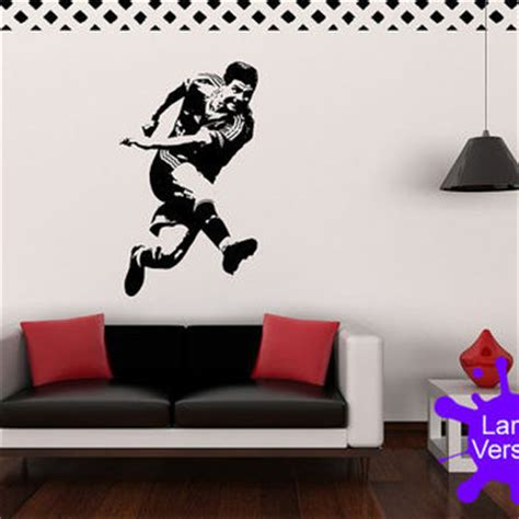 liverpool wall stickers large 120cm steven gerrard liverpool fc from gdirect wall wall