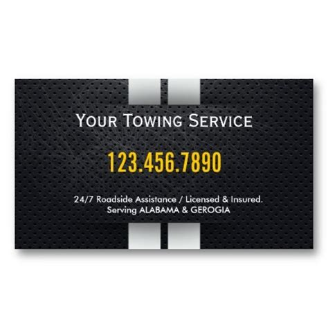 Towing Business Cards Templates by 15 Best Images About Tow Truck Business Cards On