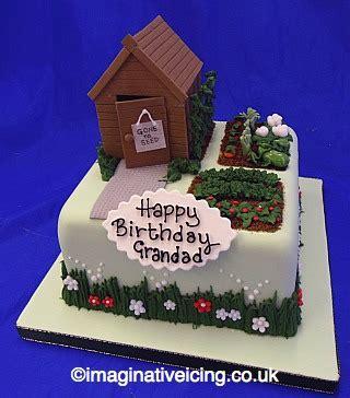garden shed allotment birthday cake imaginative icing cakes scarborough york malton