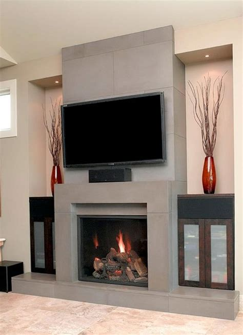 contemporary fireplace designs with tv above ward log homes contemporary fireplace designs with tv above home design