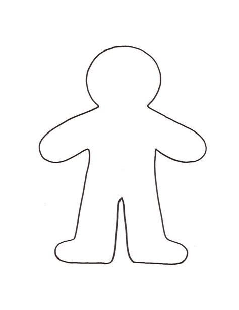 gingerbread baby coloring page