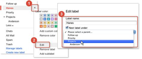 gmail reset labels how to use labels to organize and customize your gmail